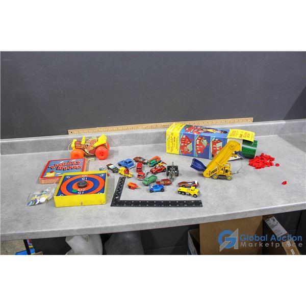 Assortment of Vintage Toys