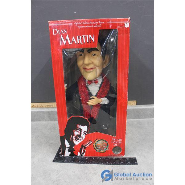Singing Dean Martin in Box