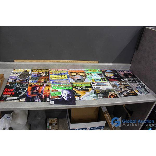 (16) Star Wars Magazines