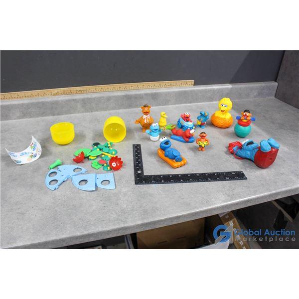 Sesame Street Toys & Kinder Egg Toy