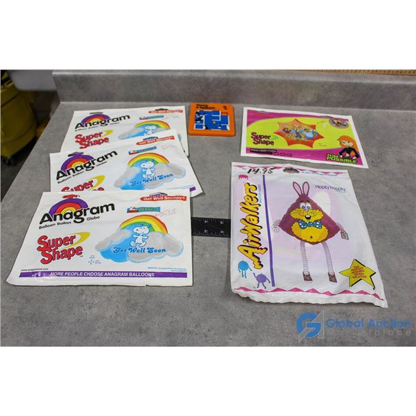 Party Balloons & Loony Tunes Puzzle