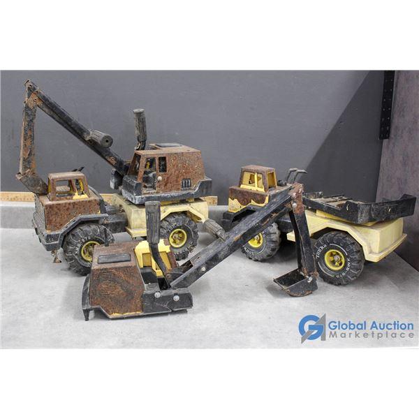 (2) Tonka Toy Excavators