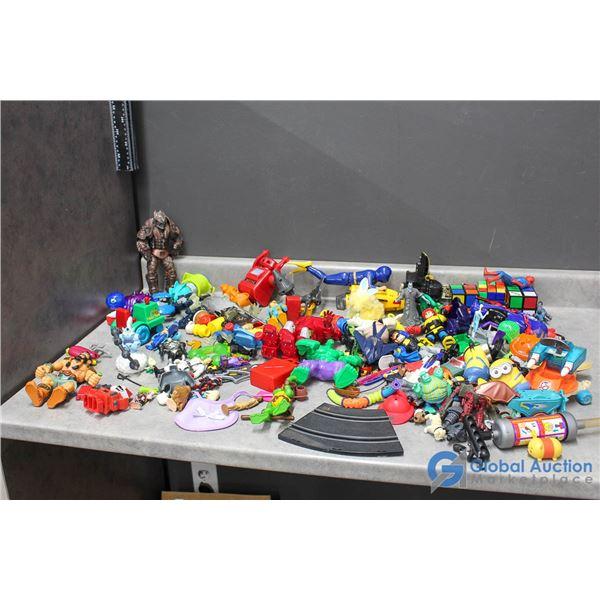 Assorted Toys - Disney, TMNT, Pokemon, Minions, DC, Marvel & More