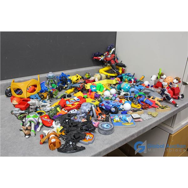 Assorted Toys - Disney, Snoopy, Smurfs, TMNT, DC, Marvel & More