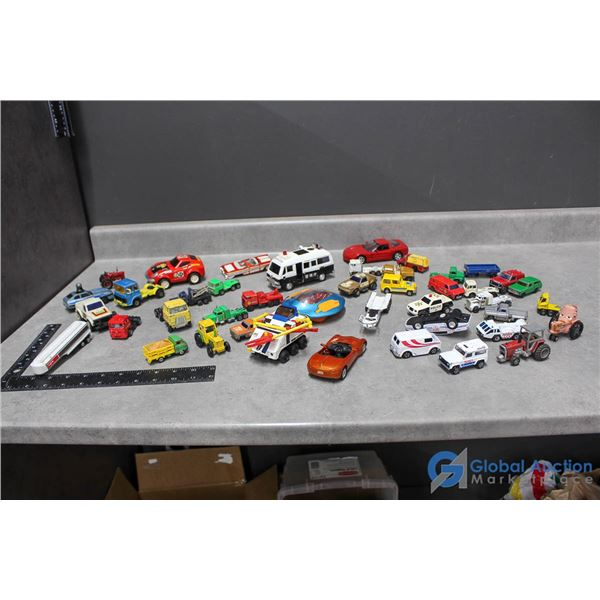 Majorette, Matchbox NASA & Other Assorted Toy Cars