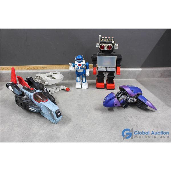 Space Ship & Robot Toys