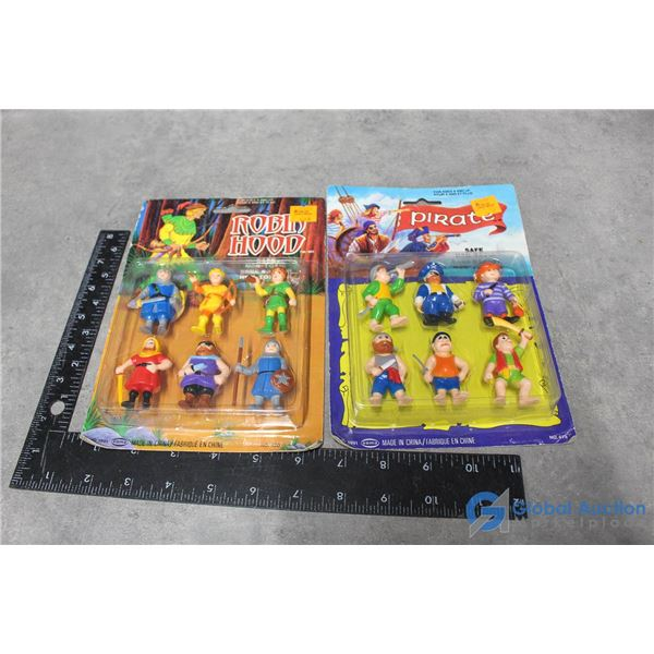 Pirate & Robin Hood Toys in Packaging