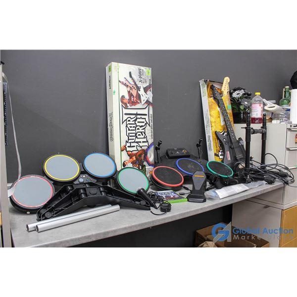 **XBox Rock Band, Guitar Hero & Power Gig Guitar Accessories