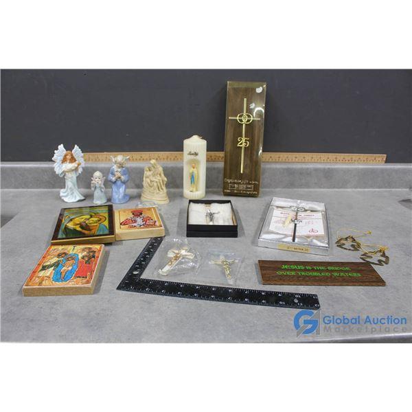 Assorted Religious Decor/Items