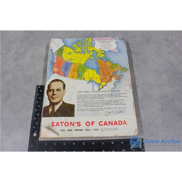 Eatons Of Canada Catalogue From 1953