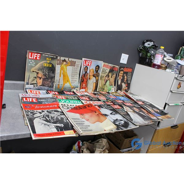 Life & Assorted Magazines