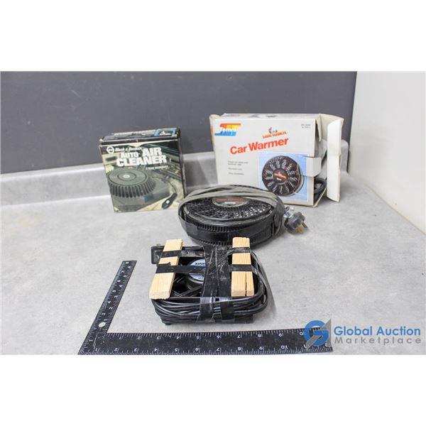 Auto Air Cleaners & Car Warmer