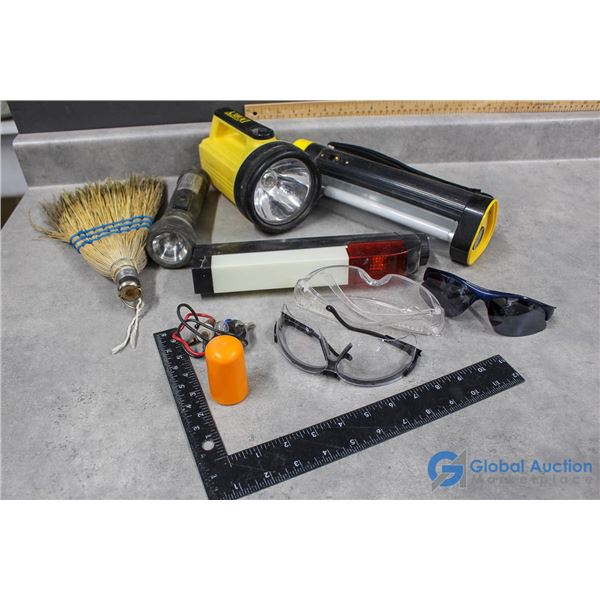 Emergency Lights, Safety Glasses & Other Accessories