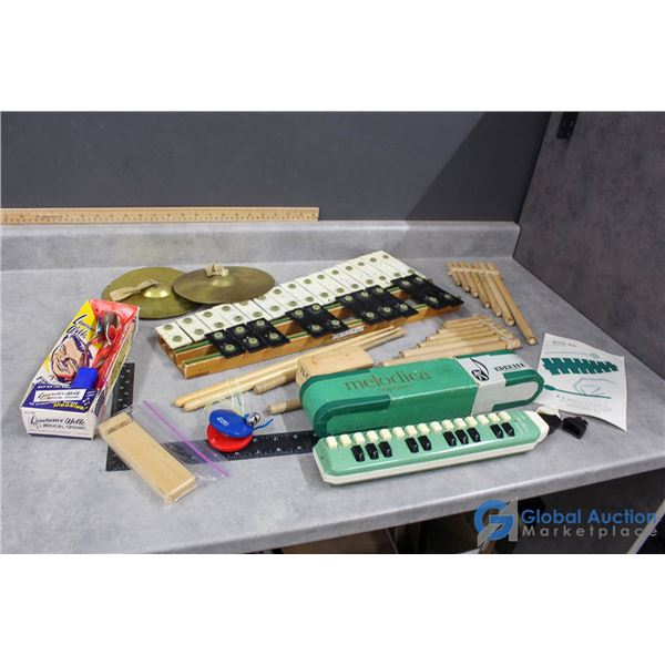 Assorted Musical Instruments