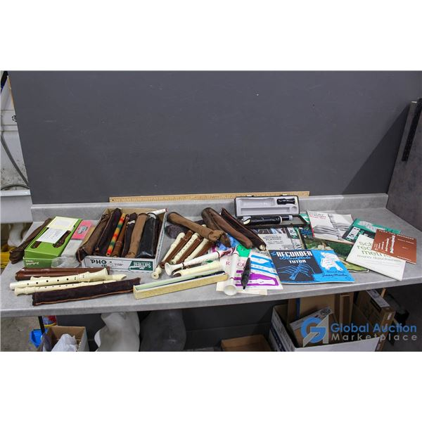 Recorders & Music Books