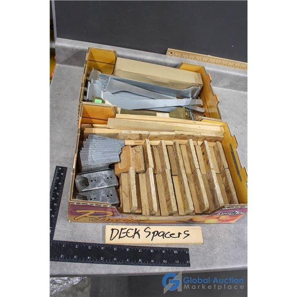 Deck Spacers & Shelf Brackets