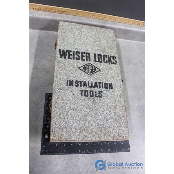 Weiser Locks Insulation Tools in Case