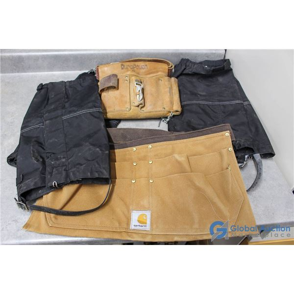 Tool Belts & (2) Pairs of Pants Protectors