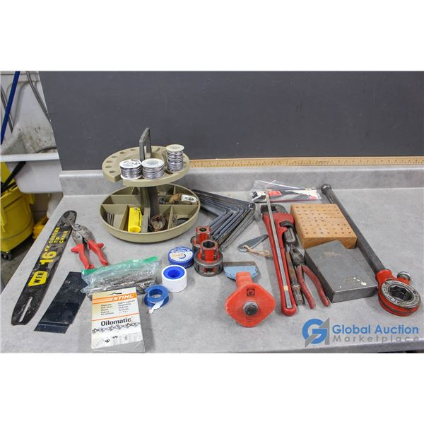 Assorted Tools & Hardware
