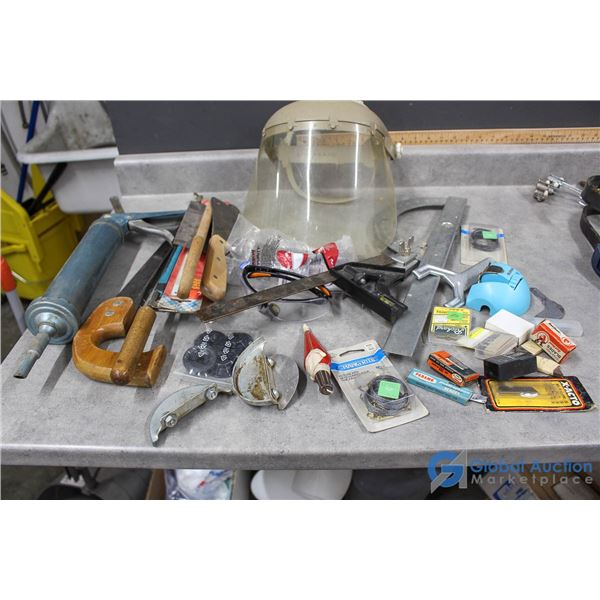 Saw, Blades, Safety Gear & Related