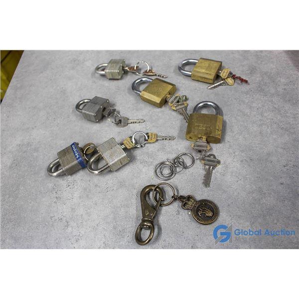 Assorted Locks & Keys