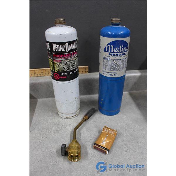 Propane Torch Bottles & Nozzles