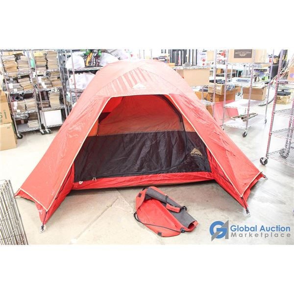 **Red 9ft x 8ft 3-4 Person Tent