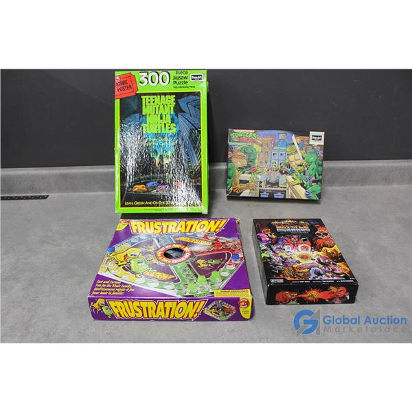 Teenage Mutant Ninja Turtles Puzzles & Other Board Games