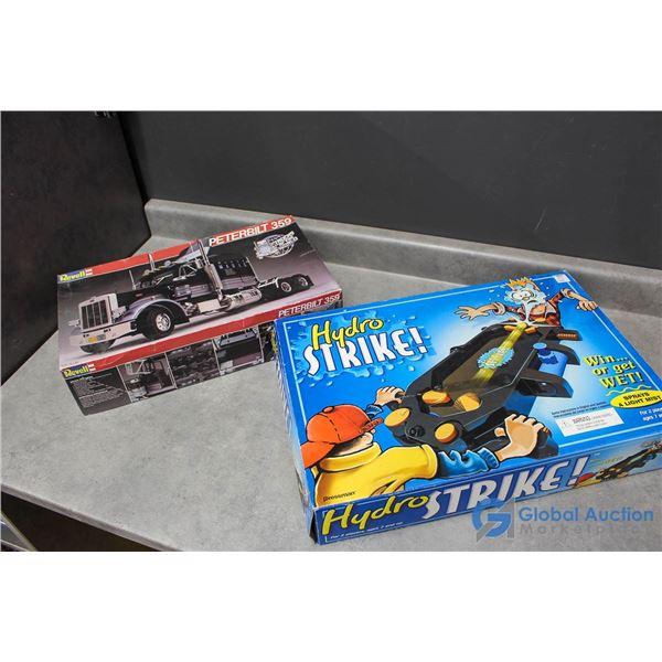 Model Semi Truck & Hydro Strike Game