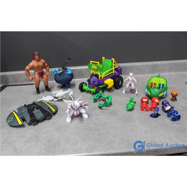 Assorted Toys - Pokeman, PJ Masks