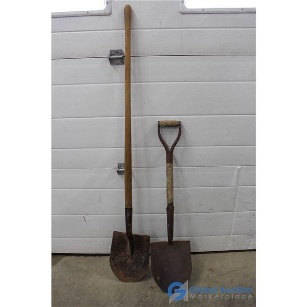 **(2) Shovels