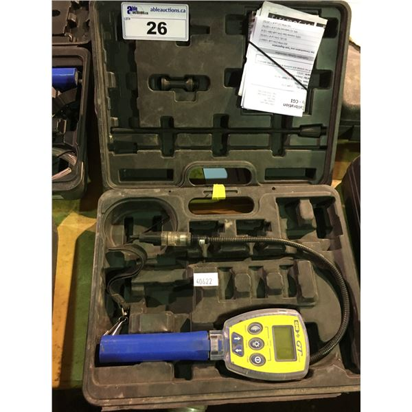 GMI GT SERIES MULTI-APPLICATION GAS DETECTING INSTRUMENT WITH HARD CARRY CASE