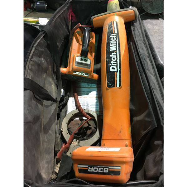 DITCH WITCH 830T RADIO DETECTION PIPE AND CABLE LOCATOR KIT WITH SOFT CARRY CASE