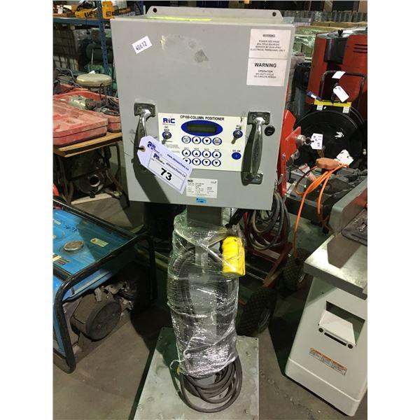 RIC ELECTRONICS 100-240V CP100-COLUMN POSITIONER MODEL CP-100-54