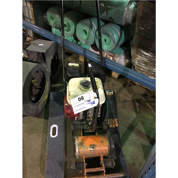 MBW GP1400 GAS POWERED VIBRATORY PLATE COMPACTOR