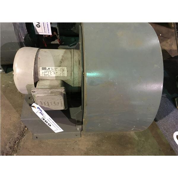 GREY WEG A56-0598 1/2HP, 3PH, 208-460V, 60HZ INDUCTION MOTOR