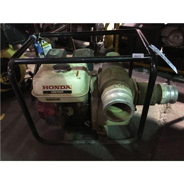 HONDA WB30XT GAS POWERED INDUSTRIAL PUMP