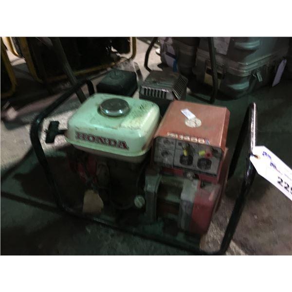 HONDA EG1400X GAS POWERED GENERATOR