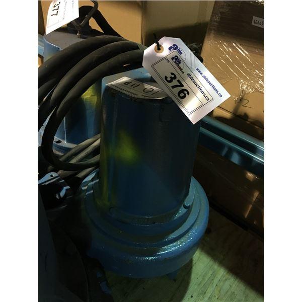 BLUE BARNES PUMPS 10HP INDUSTRIAL PUMP