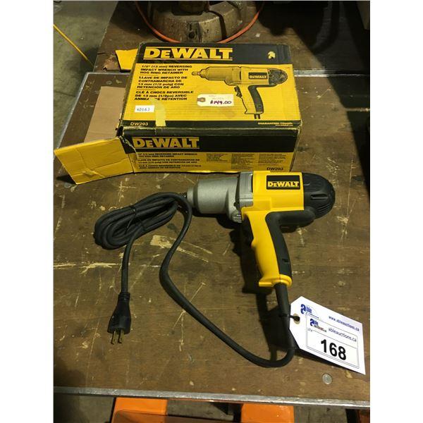 """DEWALT DW293 120V CORDED 1/2"""" IMPACT WRENCH"""