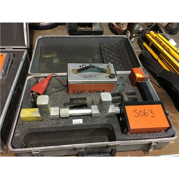 METROTECH 810 SUBSITE UTILITY WIRE CABLE PIPE LOCATOR RECEIVER AND TRANSMITTER WITH