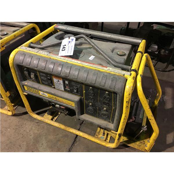 WACKER NEUSON GP6600 GAS POWERED INDUSTRIAL GENERATOR