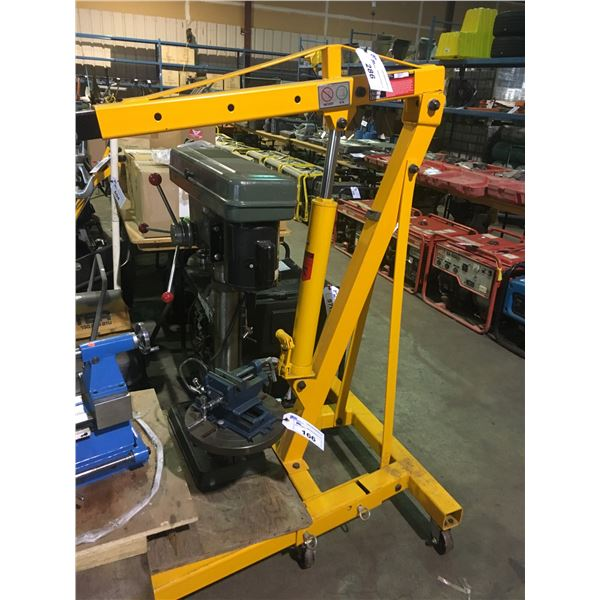 YELLOW MOBILE PERFORMANCE TOOLS W41029 2 TON FOLDING ENGINE CRANE