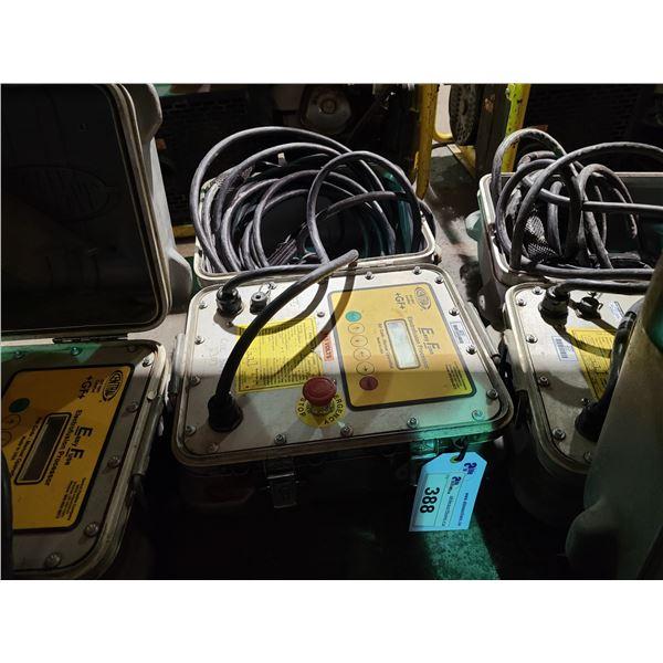 CENTRAL ISO 9001 EASY FUSE 115V PORTABLE INDUSTRIAL ELECTROFUSION PROCESSOR