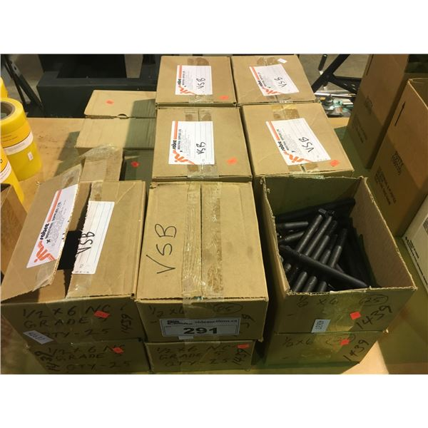 """17 BOXES OF GRADE 5 1/2"""" X 6"""" BOLTS"""
