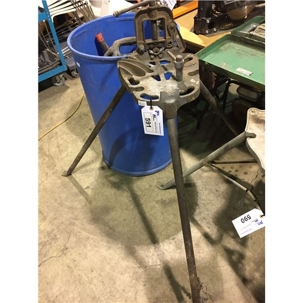 """RIDGED PORTABLE INDUSTRIAL TRISTAND VISE 2-1/2"""""""