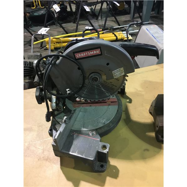 "CRAFTSMAN 10"" 120V COMPOUND MITER SAW"