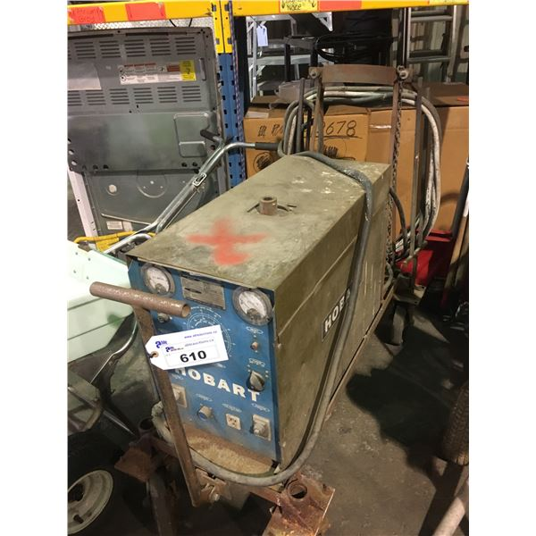 HOBART RC-256 200AMP MOBILE WELDER WITH GROUND CABLE