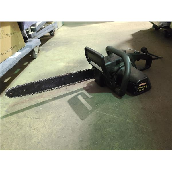 """CRAFTSMAN 358.34118 18"""" ELECTRIC CHAINSAW"""