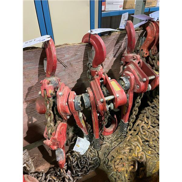 RED HIT HEAVY DUTY 6-TON CHAIN LEVELING HOIST